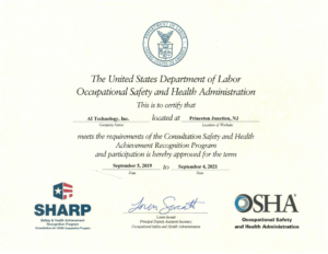 SHARP Certificate Expires 9-4-2021